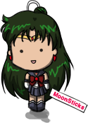 Sailor Pluto Chibi Doll