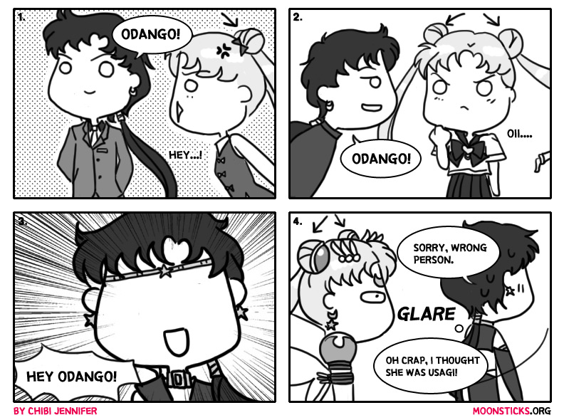 MoonSticks Sailor Moon Comic/Douinshi #21 Seiya's Odango Obsession featuring Seiya Kou/Sailor Star Fighter and Usagi Tsukino/Sailor Moon