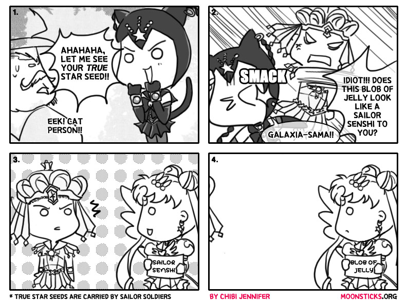 MoonSticks #42 Star Seed Hunters featuring Sailor Galaxia, Sailor Tin Nyanko and Eternal Sailor Moon
