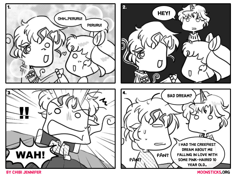 MoonSticks #47 Debatable Love Triangle featuring Peruru/Perle, Chibiusa and Helios