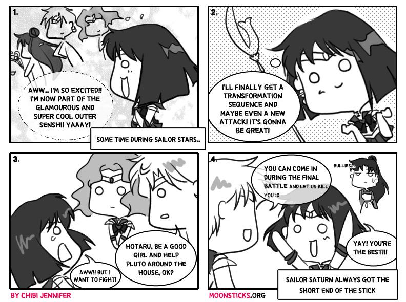 Sailor Saturn doujinshi - Short End of the Glaive - MoonSticks