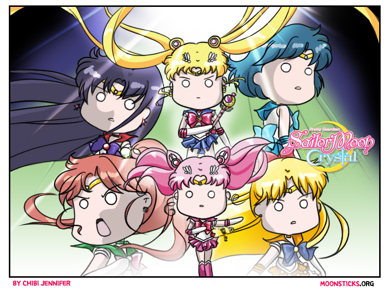 Pretty Guardian Sailor Moon Crystal Black Moon Arc