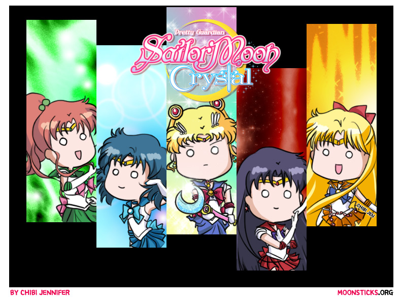 Pretty Guardian Sailor Moon Crystal Sailor Senshi Character Designs