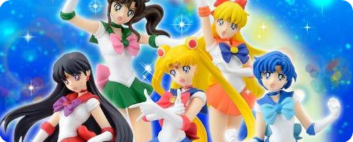 HGIF Sailor Moon PVC Figure Collection