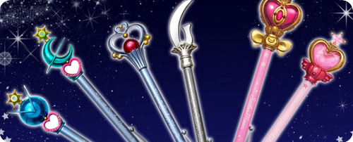 Outer Senshi Wand Pointers/Pens