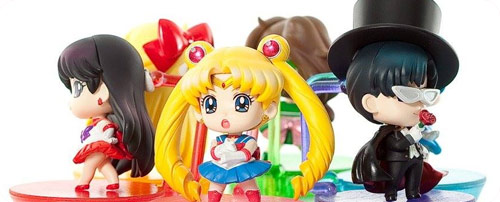 Petite Sailor Moon Character Figures by MegaHouse