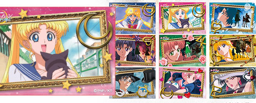 Sailor Moon Crystal × TSUTAYA BOOKS Tin Badges (Scene Version)