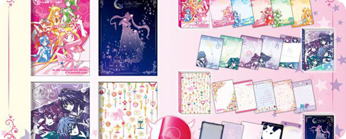 Sailor Moon A5 & A6 Notebooks