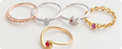 Sailor Moon & Inner Senshi 'Attack' Rings