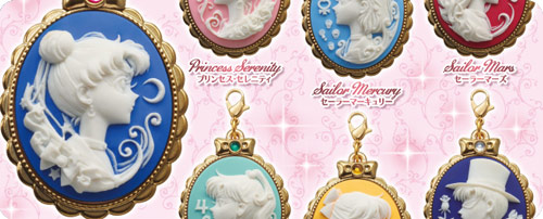 Sailor Moon Cameo Charms Gashapon Set