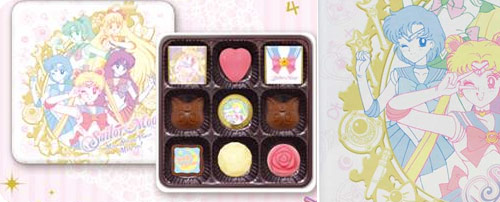 Sailor Moon Canned Chocolate Gifts