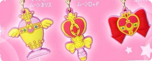 Sailor Moon Charm Character Pin Set 2