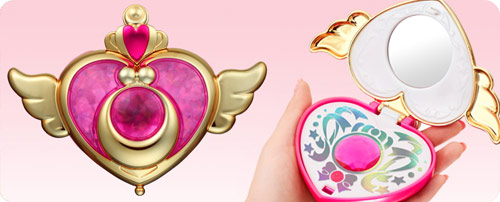 Sailor Moon Crisis Moon Compact 'Girls Memory Series'
