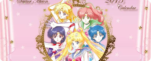 Sailor Moon Crystal 2015 Desktop Calendar