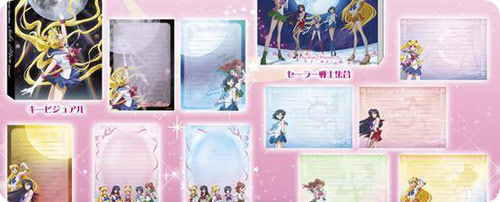 Sailor Moon Crystal A6 Note Books