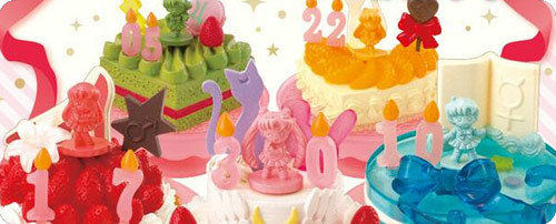Sailor Moon Crystal 'Birthday Cakes' Re-ment Set