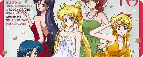Sailor Moon Crystal Character Song Album (CD)