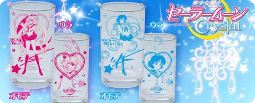 Sailor Moon Crystal Glasses Set