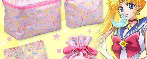Sailor Moon Crystal Mini Bags and Towels