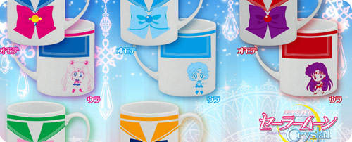 Sailor Moon Crystal Costume Mugs