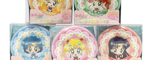 Sailor Moon Crystal Petite Candy Full Set of 5