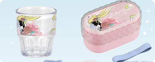 Sailor Moon Crystal Cup & Two Tier Bento Box