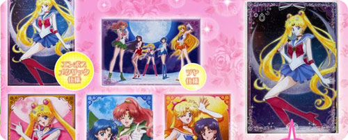 Sailor Moon Crystal Postcard Set