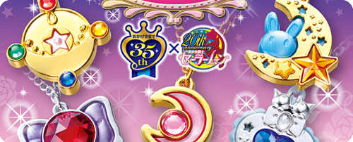 Sailor Moon Crystal Premium Sebon Star Moon Prism Candy Toys