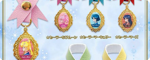 Sailor Moon Crystal Ribbon Bag Charms