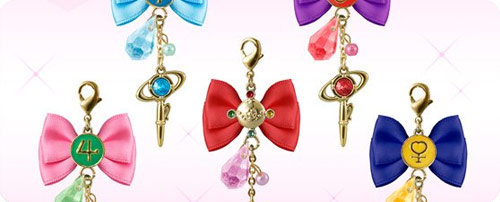Sailor Moon Crystal Ribbon Charms