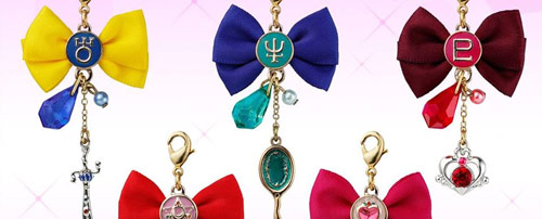 Sailor Moon Crystal Ribbon Charms Set 2