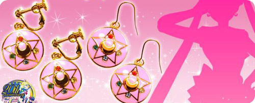 Sailor Moon Crystal Star Earrings