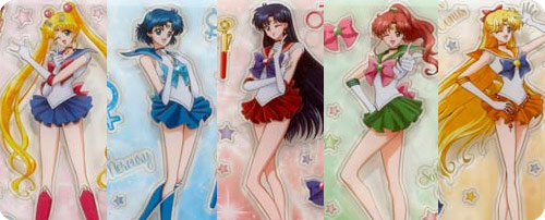 Sailor Moon Crystal Stickers