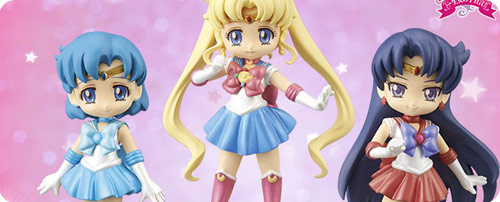 Sailor Moon Crystal UFO Catcher Girls Memories Mini Figures Set 1