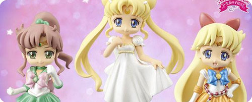 Sailor Moon Crystal UFO Catcher Girls Memories Mini Figures Set 2