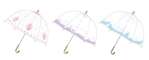 Sailor Moon Crystal Vinyl Umbrellas