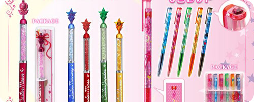 Sailor Moon Prism Gel Pens