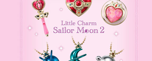 Sailor Moon Little Charm Set 2