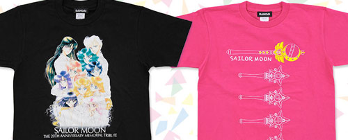 Sailor Moon 20th Anniversary Live Concert T-Shirts