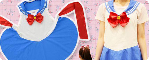 Sailor Moon Make-up Sailor Apron