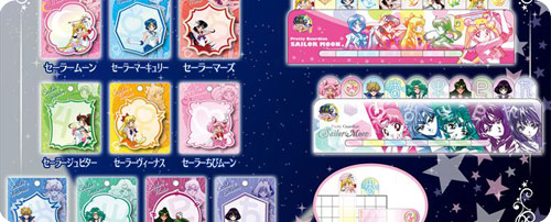 Sailor Moon Memo Pads & Sticky Tabs