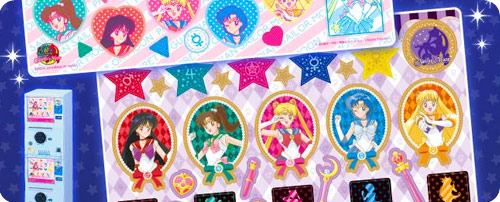 Sailor Moon Metal Sticker Sheet
