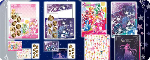 Sailor Moon Mini Letter Sets & Clearfiles