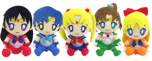 Sailor Moon Mini Plush Toy Cushion