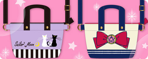 Sailor Moon Mini Tote Bags