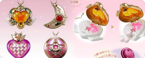 Sailor Moon Candy Toys - Miniaturely Tablets Set 3