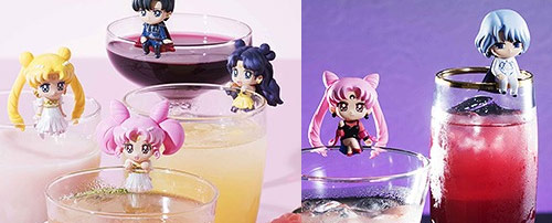 Sailor Moon Ochatomo Night & Day Figures