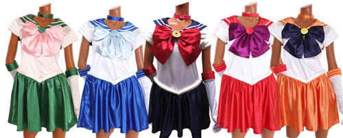 Official Sailor Moon Cosplay Costumes