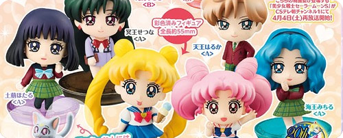 Sailor Moon Petit Chara School Life Set 2