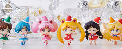 Sailor Moon Petit Chara Christmas Special Set